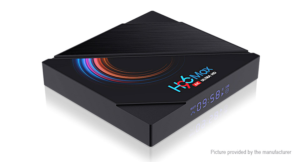 H96 Max H616 Quad-Core TV Box (64GB/UK)