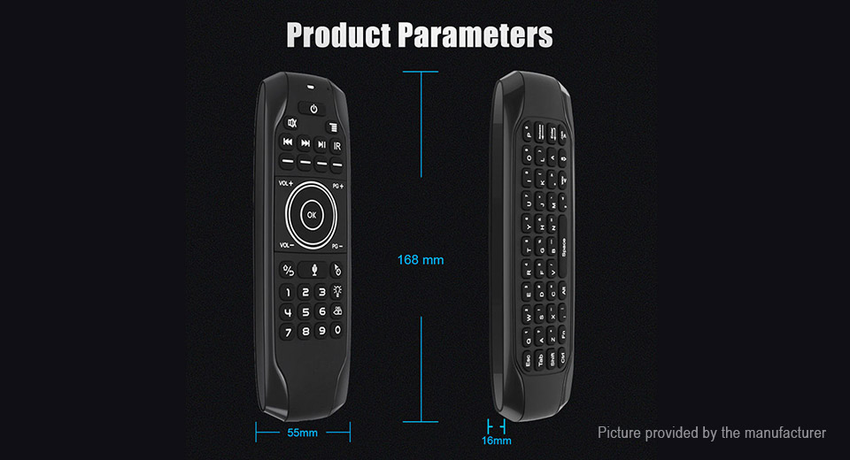 G7 Air Mouse 2.4GHz Wireless Mini Keyboard Remote Control