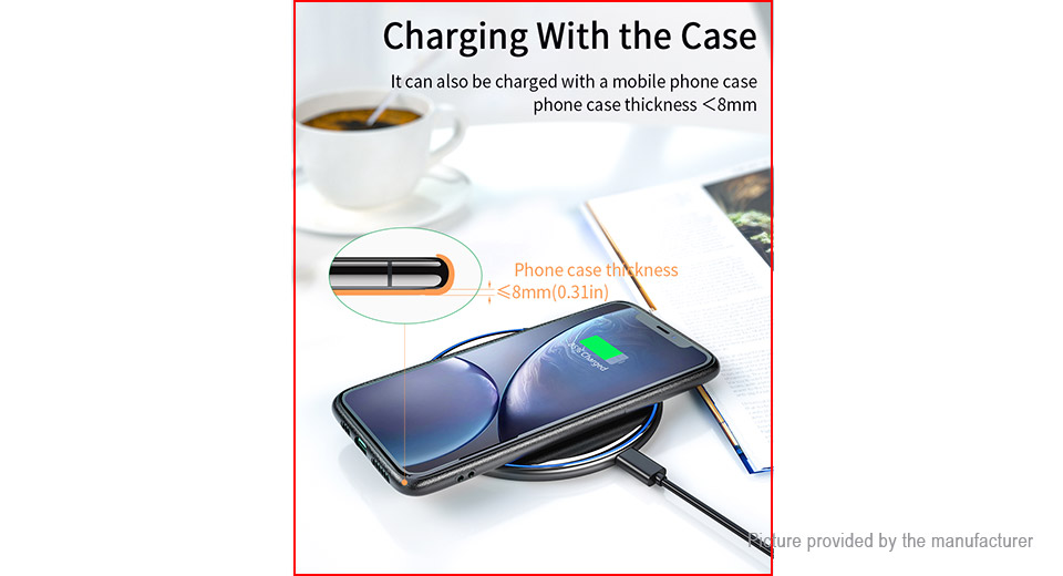 Essager EWXZM-JM01 Qi Inductive Wireless Charger Pad
