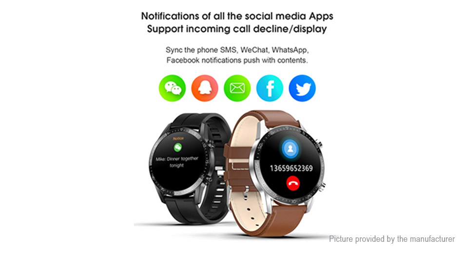 T03 1.28'' IPS Touch Screen Bluetooth V4.0 Smart Watch