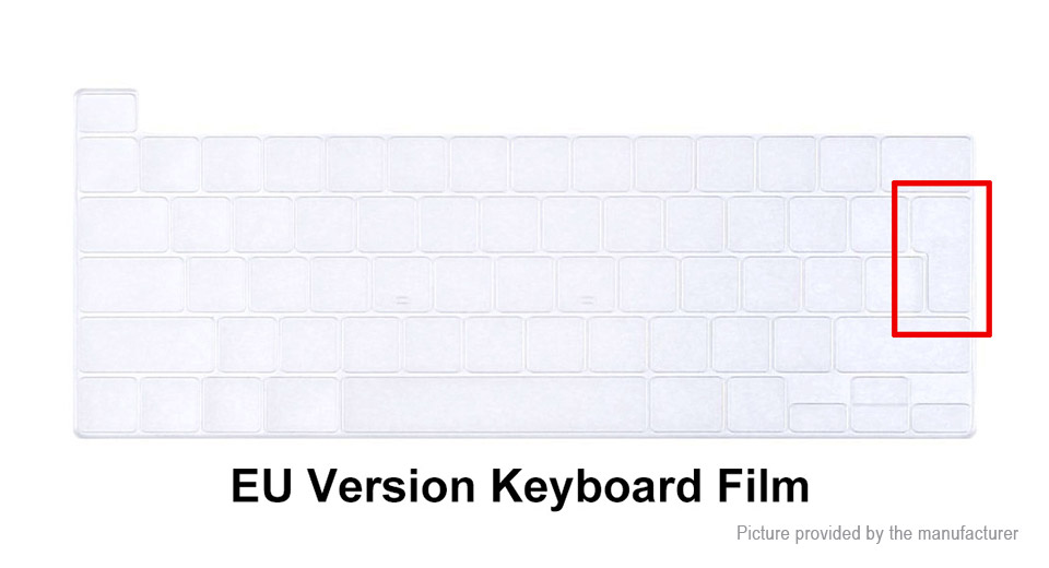 ENKAY Full Body Matte Protective Case + Keyboard Film + Dustproof Plug