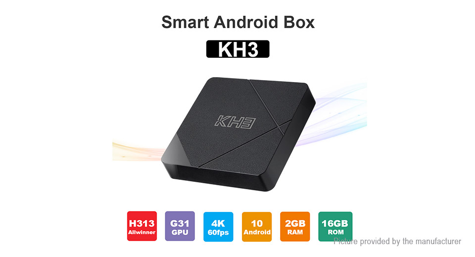 KH3 Quad-Core TV Box (16GB/UK)