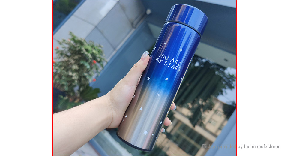 Stainless Steel Insulated Water Bottle Vacuum Cup (500ml)