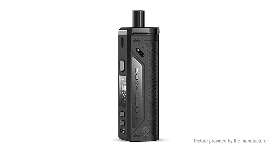 $49.99 Authentic Lost Vape Thelema 80W 3000mAh VW Pod System Mod Kit - 4ml / 0.2ohm/0.3ohm / 5-80W at FastTech - Free Shipping