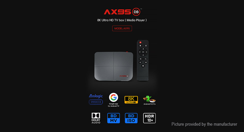AX95 Quad-Core Pie TV Box (32GB/US)