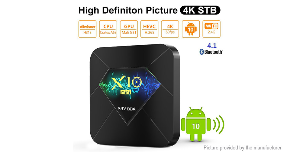X10 Mini Quad-Core TV Box (8GB/EU)