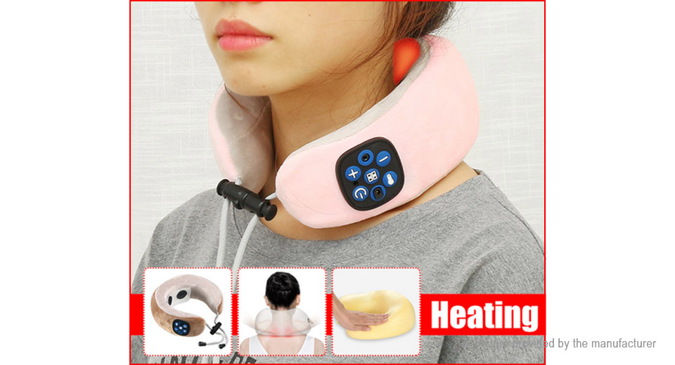 Electric Neck Cervical Vertebra Massager Muscle Spasm Pain Relief Device