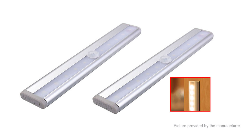 Product Image: 2pcs-light-motion-sensor-led-under-cabinet-closet