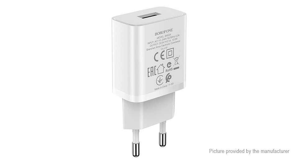 Product Image: authentic-borofone-ba52a-usb-wall-charger-power