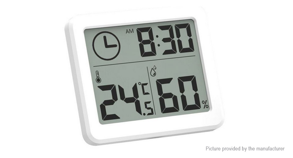 Product Image: 3-2-lcd-digital-thermometer-hygrometer-alarm-clock