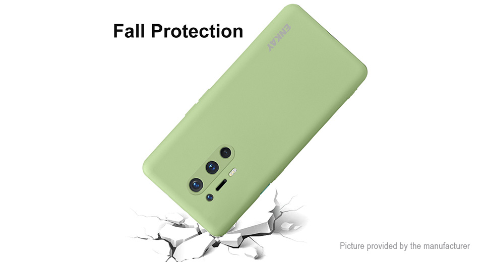 ENKAY ENK-PC082 Silicone Protective Back Case for OnePlus 8 Pro
