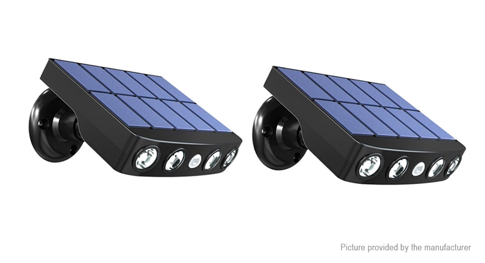 Product Image: 2pcs-solar-powered-fake-camera-led-garden-light
