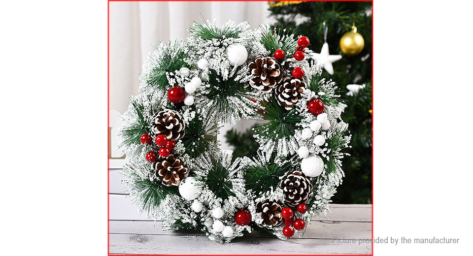 Product Image: artificial-christmas-wreath-garland-door-wall