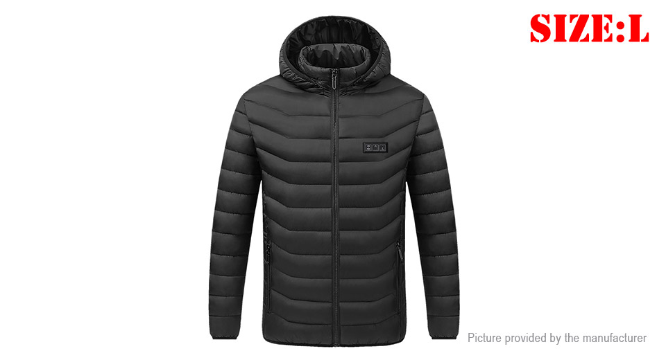 Product Image: unisex-usb-electric-heated-warm-jacket-coat-size-l