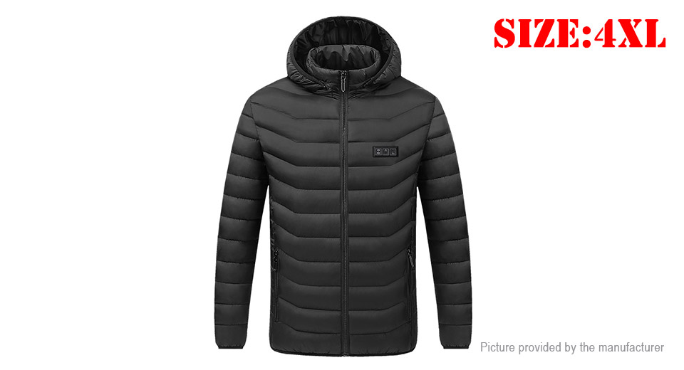 Product Image: unisex-usb-electric-heated-warm-jacket-coat-size