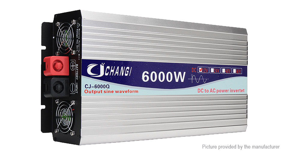 Product Image: changi-car-6000w-dc-12v-to-ac-220v-pure-sine-wave