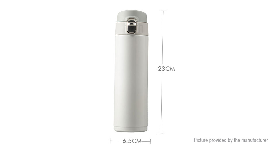 2PCS Stainless Steel Insulated Thermos Water Bottle Vacuum Cup (500ml)