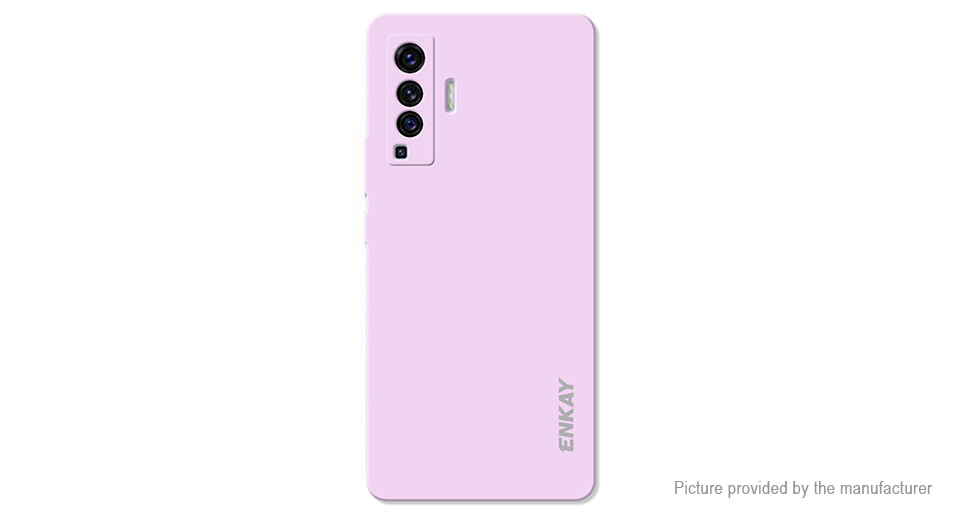 ENKAY ENK-PC074 Soft Liquid Silicone Protective Back Case for Vivo X50