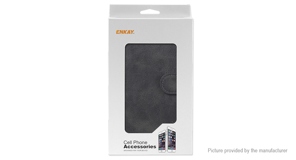 ENKAY PU + TPU Protective Flip-open Stand Case Cover