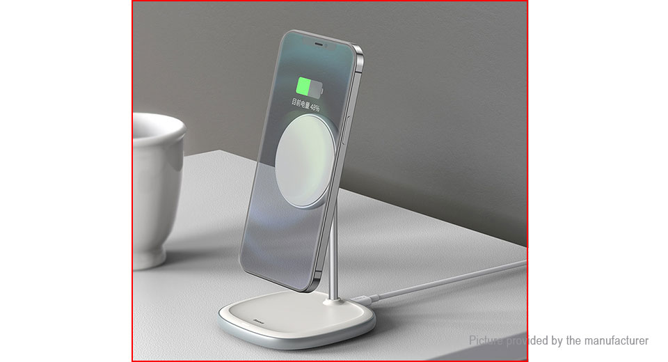 Authentic Baseus BS-W519 Magnetic Desktop Bracket Wireless Charger
