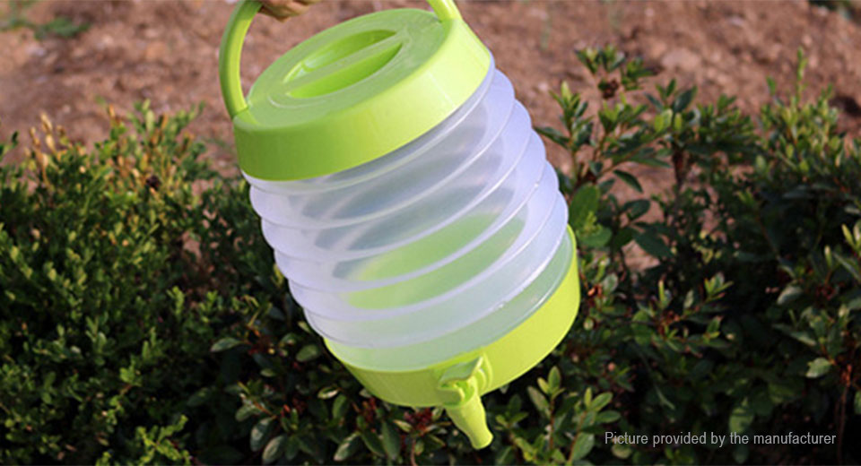 5L Folding Water Bag Dispenser Drink Container for Outdoor Camping Car Travel