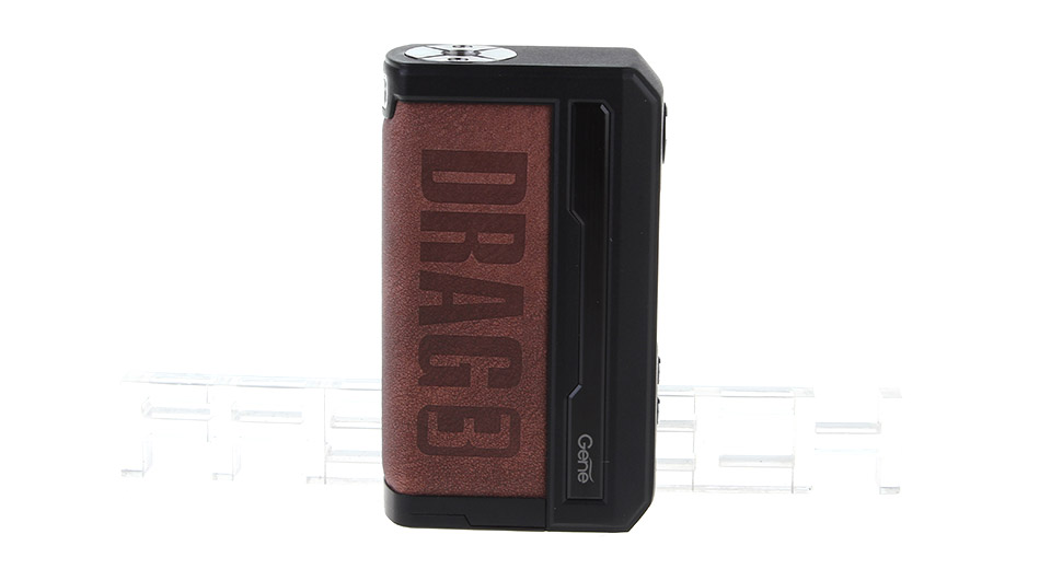 $36.13 Authentic VOOPOO Drag 3 177W VW APV Box Mod - 5-177W / 2*18650 at FastTech - Free Shipping