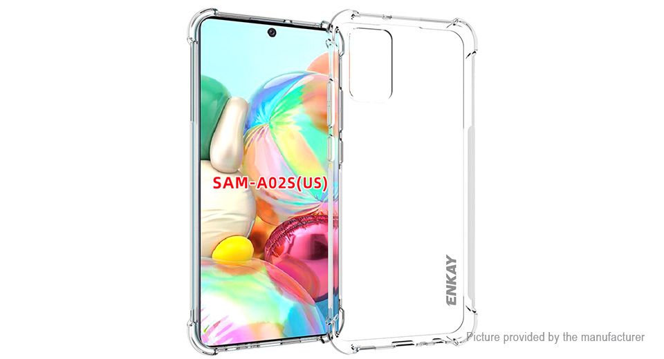 ENKAY ENK-PC090 TPU Protective Case Cover for Samsung Galaxy A02s