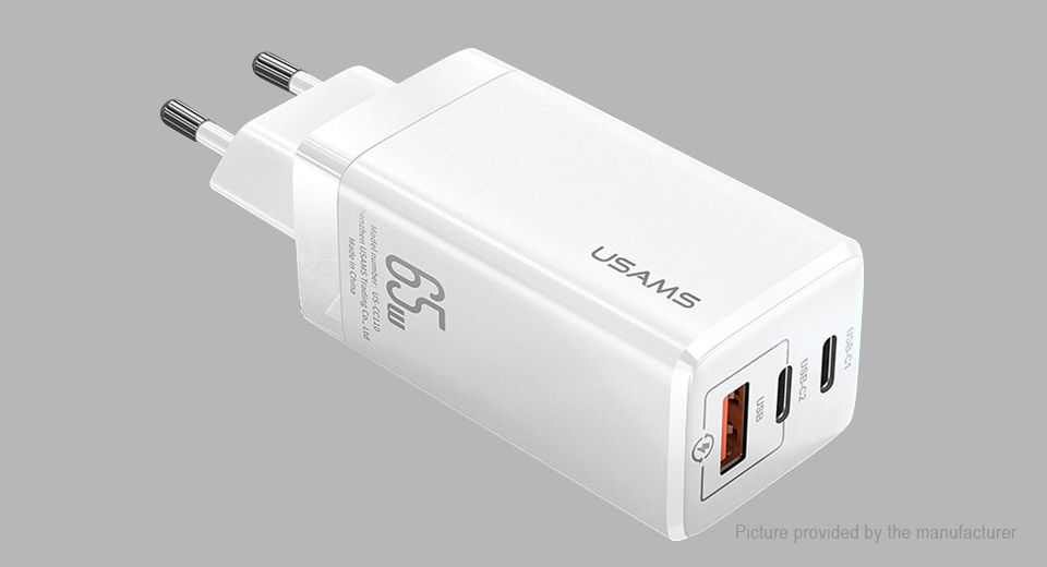 Product Image: authentic-usams-us-cc110-3-port-usb-wall-charger