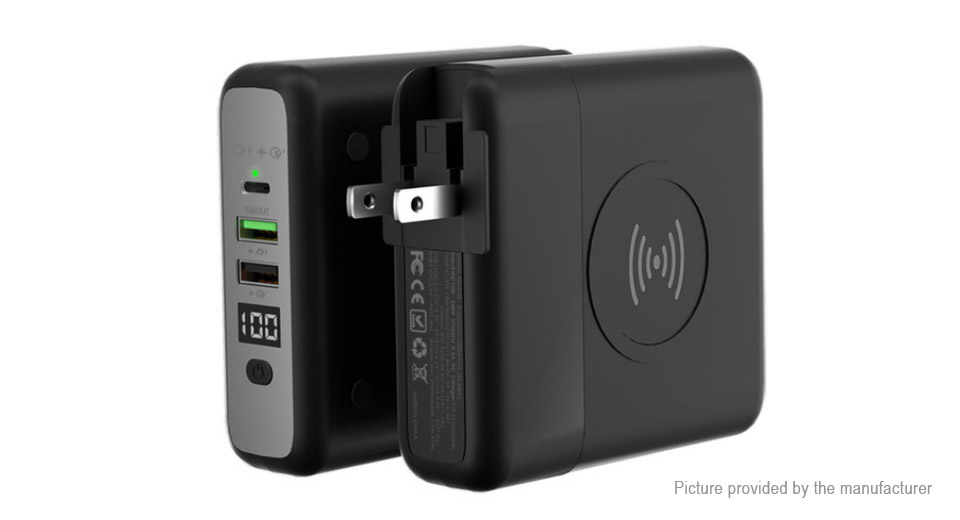 Product Image: k02-3-in-1-us-travel-adapter-wireless-charger