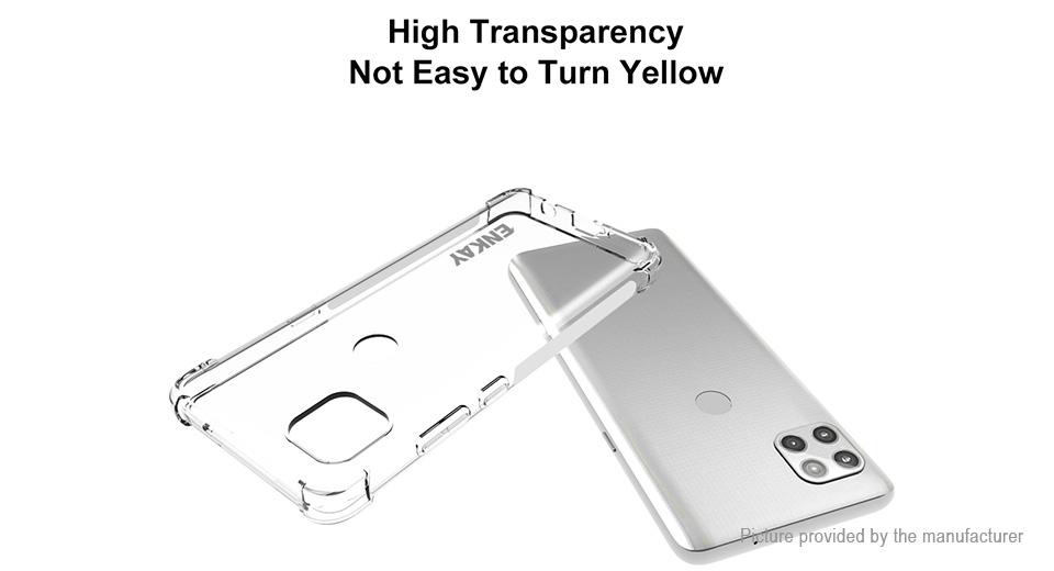 ENKAY ENK-PC086 TPU Protective Case Cover for Motorola Moto G 5G