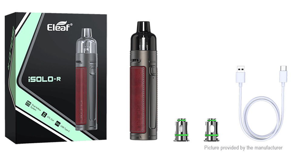 Authentic Eleaf iSOLO R 30W 1800mAh Pod System Starter Kit