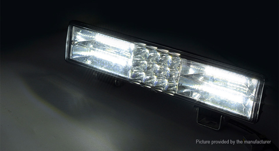 60W 60*LED 1200LM Car LED Work Light Bar