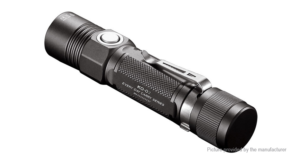 Authentic JETBeam KO-02 LED Flashlight