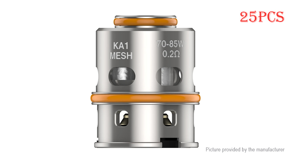 Product Image: 25pcs-authentic-geekvape-z-max-tank-replacement
