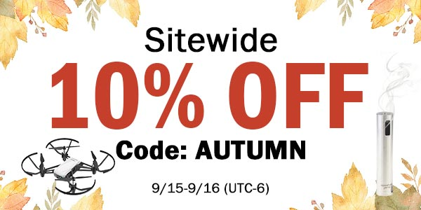 Sitewide 10% discount