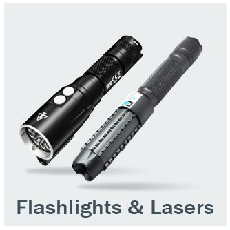 Flashlights and Lasers