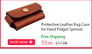 Protective Leather Bag Case for Hand Fidget Spinner was $11.58 now $9.84 (15% off) Free shipping