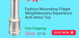 Fashion Moondrop Fidget Weightlessness Experience Anti-stress Toy was $7.76 now $6.60 (15% off) Free shipping