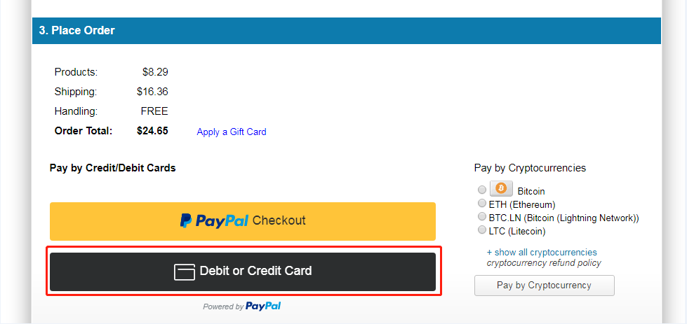 Paypal Funktion